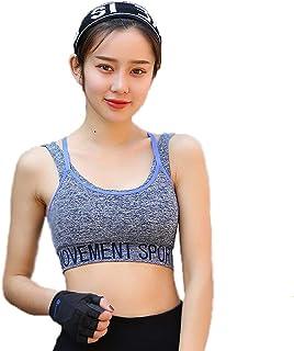 High-Strength Sports Bra Women-Shockproof Non-Wired Running Yoga Push-up Shoulder Strap Underwear Beauty Back Fitness Vest...