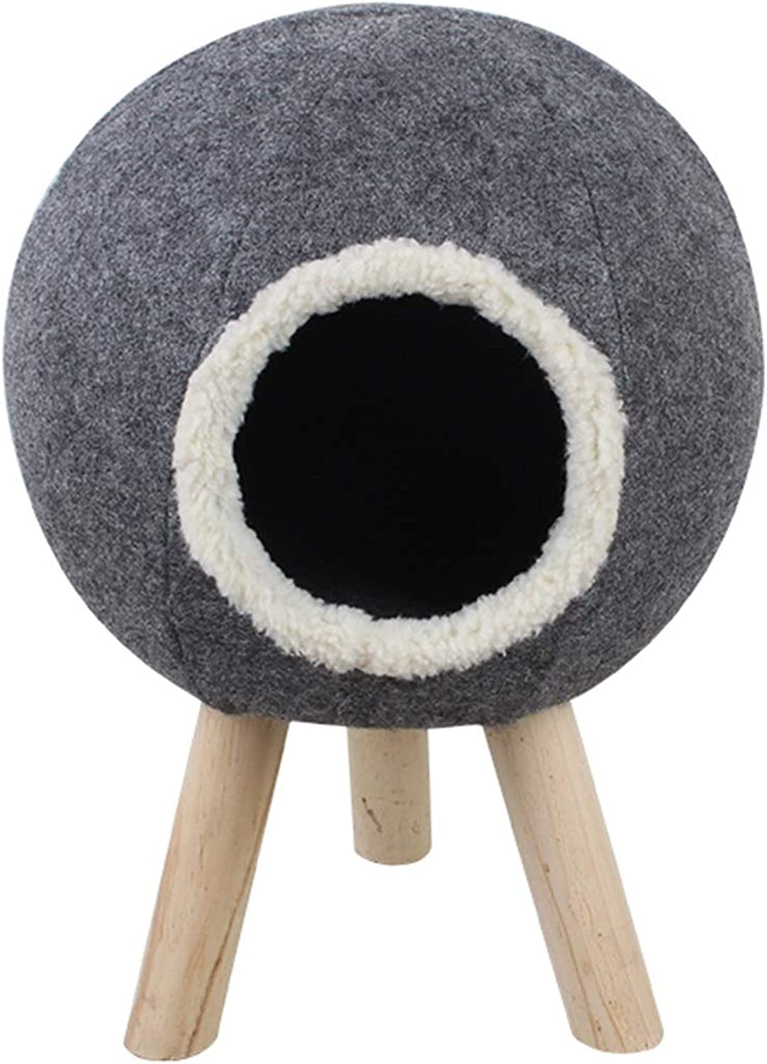 Cat Bed   Cat Play House Condo Furniture - Ideal for Kittens, Cats and Pets, 3 Style (color   B)