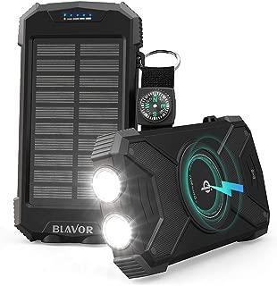 Turefans Cargador Solar de bater/ía para la c/ámara de Caza HC-300A HC-300M HC-500M 1500mA
