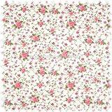 polstereibedarf-online Möbelstoff Flora Little Rose Rosa