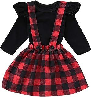 d9b2ba2b00c0e Amazon.fr   jupe carreaux rouge - Robes   Fille   Vêtements