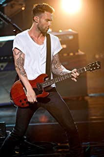 (24x36) Adam Levine Maroon 5 Singer Poster (SPECIAL THICK POSTER) Original Size 24x36 Inch - Adam Levine, Jesse Carmichael, Mickey Madden, James Valentine, Matt Flynn, PJ Morton, Sam Farrar