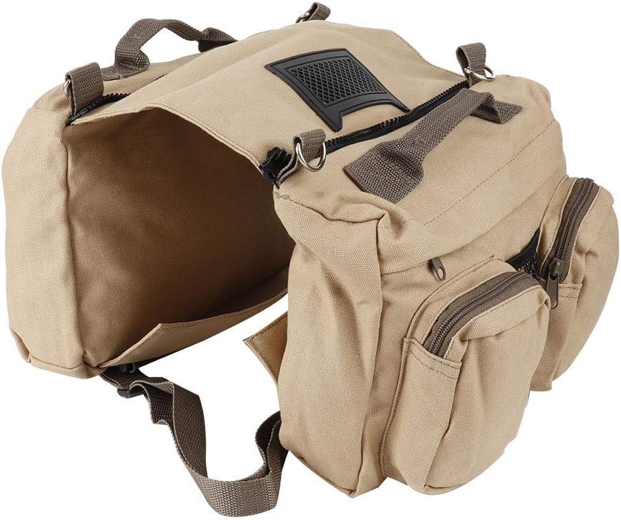 xiji Dog Saddle Max 64% OFF Bag Wear-Resistant Harness Breatha Popularity Backpack