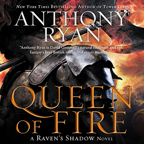 Queen of Fire audiobook cover art