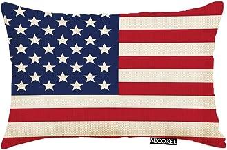 Amazon Com American Flag Pillow