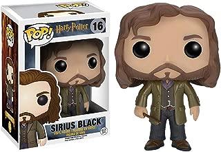 Funko Sirius Black: Harry Potter x POP! Vinyl Figure & 1 POP! Compatible PET Plastic Graphical Protector Bundle [#016 / 06570 - B]