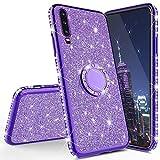 HMTECH Huawei Y6 2019 Glitter TPU Case,Huawei Y6 2019