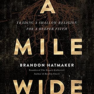 A Mile Wide audiobook cover art