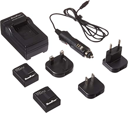 DIGI TECH Replacement Wall Car Battery Charger for Panasonic PV-GS39 Camcorder