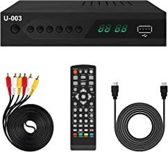 Analog to Digital TV Converter Box - UBISHENG U-003 Set-Top Box/ TV Box/ ATSC Tuner for 1080P HDTV with TV Tuner, EPG, PVR...
