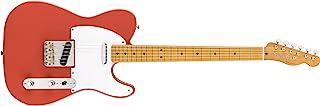 Fender Vintera '50s Telecaster - Diapasón de arce, color rojo