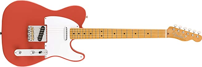 Fender Vintera '50s Telecaster - Maple Fingerboard - Fiesta Red