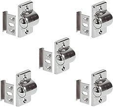 Gedotec Rolsnapper kogelsnapper deursluiting voor houten meubeldeuren en kastdeuren | staal vernikkeld | meubeldeursnapper...