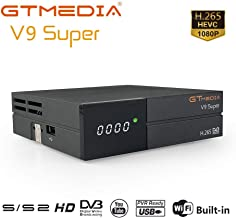 GT MEDIA V9 Super DVB-S2 Decodificador Satélite Receptor de