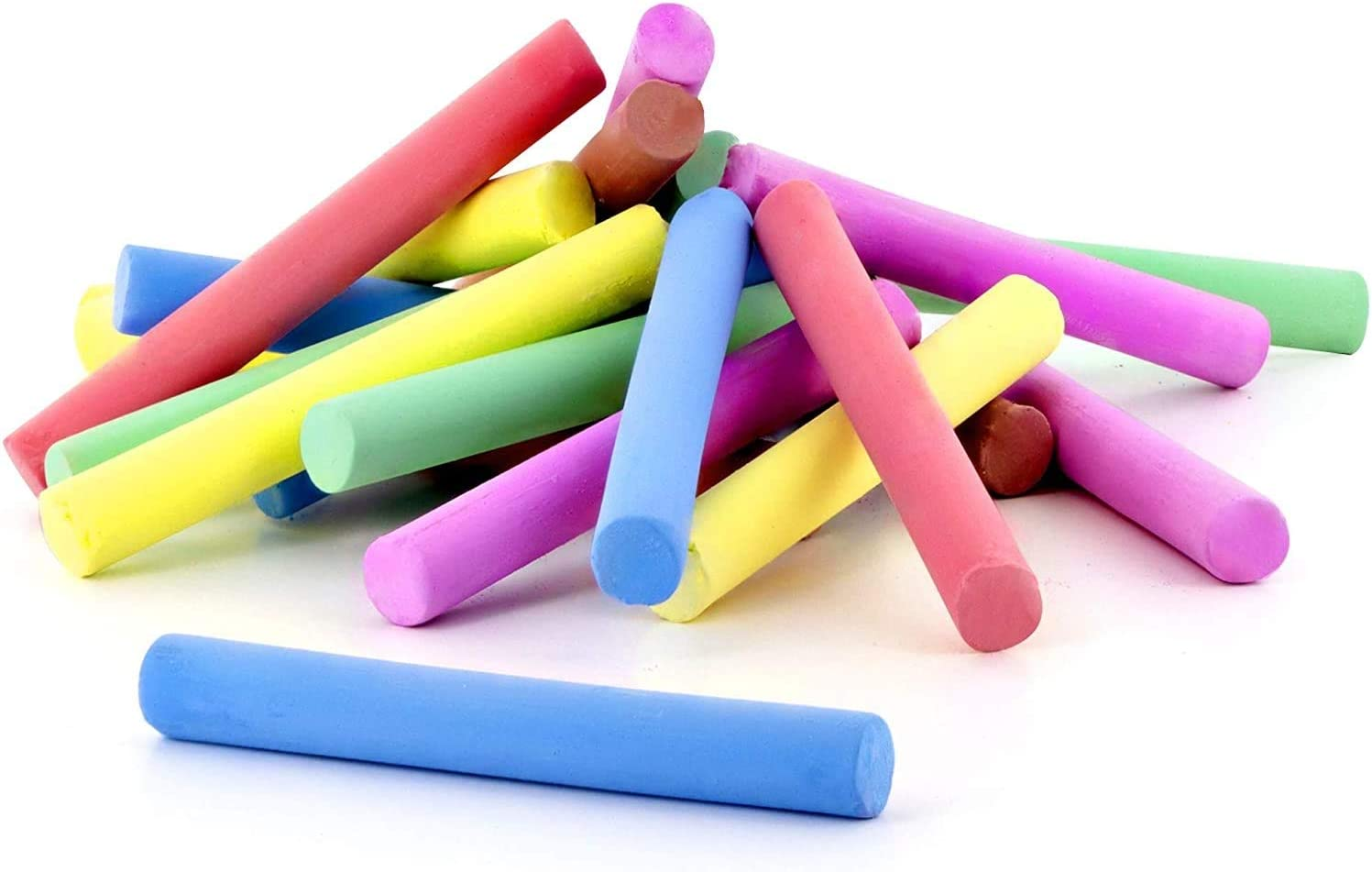 National uniform free shipping Emraw Chalk Assorted Dustless Chal Multi Non-Toxic Colored Outlet SALE