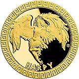 Power Coin Harpy Arpía Mythical Creatures Moneda Oro 5$ Niue 2020