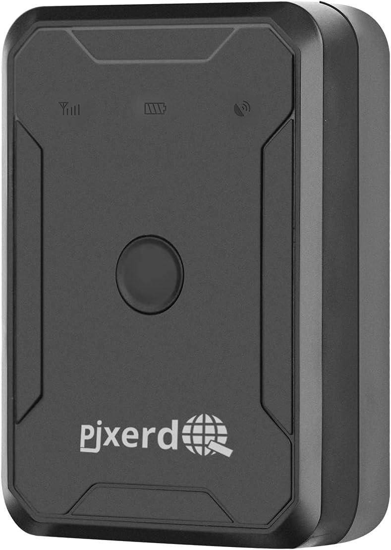 Localizador GPS 4G, Tracker GPS LL02, Rastreador Antirrobo, IP67 a Prueba de Agua, 6000 mAh para la Gestión de Vehículos