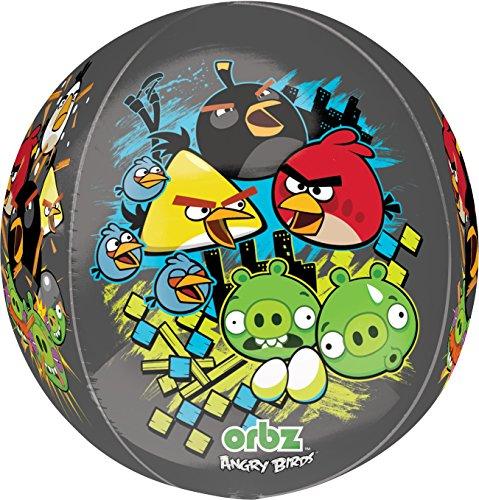 Amscan International Accessoire de fête Orbz Angry Birds