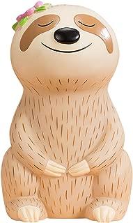 FUYU Cute Cartoon Sloth Piggy Bank Saving Bank, Coin Bank, Home Decoration, Birthday Gift