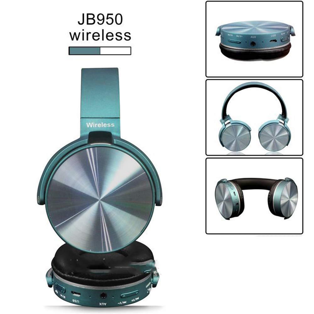 Audífonos Bluetooth 30H Playtime Hi-Fi estéreo inalámbricos para niña, con Cable Plegable, inalámbricos, TF para teléfono/TV, Bluetooth 4.1, Auriculares inalámbricos con micrófono: Amazon.es: Electrónica