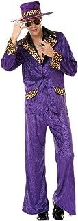 Honey Hustler Men's Halloween Costume 70's & 80's Big Pimpin' Pimp Daddy Suit