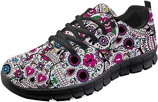 Woisttop, scarpe da ginnastica da donna, comode, per attività all'aria aperta, camminate, corsa, sport