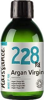 Naissance Huile d'Argan du Maroc BIO (n° 228) - 250ml - 100% pure, naturelle - pressée à froid et non-raffinée - végane, s...