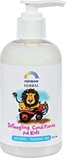 Rainbow Research, Detangling CONDITIONER FOR KIDS : Unscented / Fragrance Free - 2 pack