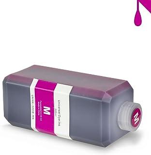 ALLINKTONER Magenta Refill Ink 500 ml (16.9 oz) Bottle Compatible with Most Inkjet Printers & Refill Kit