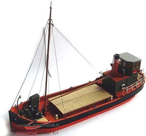 punto de venta Langley Models 67ft Clyde soplador barco  Ship plano plano plano de corte plano O escala sin pintar Kit OM2  seguro de calidad