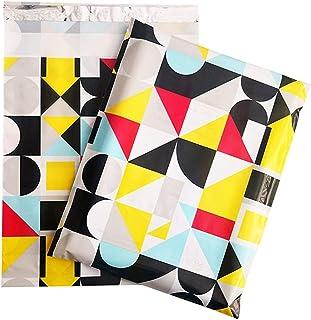 100Pcs 10 * 13 inch Poly Mailers 25.5x37cm Self Seal Plastic Mailing Envelope Bags Flamingo Designer Shipping Packaging En...