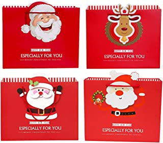 Howaf 159pcs Regalo Pegatina Navidad Etiqueta Adhesiva Papel Decoraci/ón Cajas Regalos Bombones Caramelo Fiesta Sello Bolsas /álbumes de Recortes Tarjetas de Felicitaci/ón Sobre