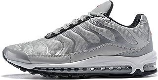 Skyland Air 97Plus Mens Versatile Air Cushion Casual Shoes Running Trainers (10US) Silver