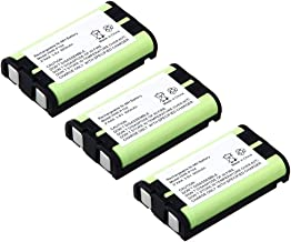 900mAh 3.6V Rechargeable Ni-MH Battery for Panasonic Cordless Phone HHR-P104 HHR-P104A Type29 (3 Pack)