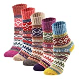 set of socks that look like striped-patterned vintage sweaters