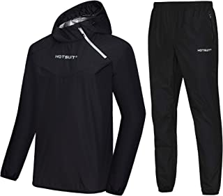 HOTSUIT Sauna Suit Men Weight Loss Jacket Pant Gym Workout Sweat Suits