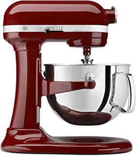 KitchenAid KP26M1XGC 专业 600 系列 6 夸脱台式搅拌机 Gloss Cinnamon 6 qt,需配变压器