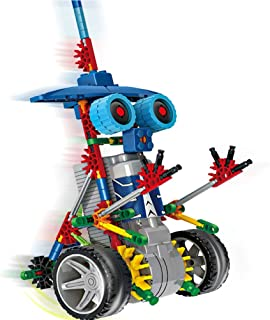 Litand Alien Toys for Kids / Robotic Building Set / Battery Powered Robotic Kits / Stem Toys for Boys Girls / 3D Puzzles for Kids , 122 Parts(Knight)