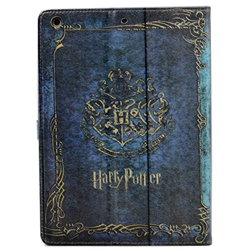 iIPad 9.7 2018/2017 Case, Vintage Diary Planner Journal Book Pattern Leather Flip Stand Case Cover for Apple iPad 9.7 2017,iPad 9.7 2018