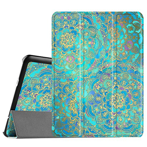 Fintie Hulle fur Samsung Galaxy Tab S2 97 T810N T815N T813N T819N 246 cm 97 Zoll Tablet PC Ultra Schlank Stander Cover Schutzhulle mit Auto SchlafWach Funktion Jade
