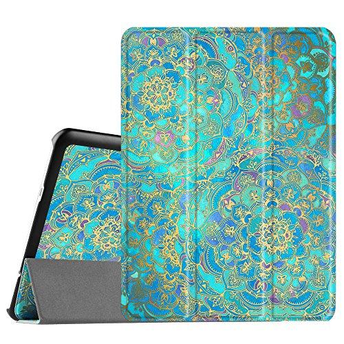 Fintie Hülle für Samsung Galaxy Tab S2 9.7 T810N / T815N / T813N / T819N 24,6 cm (9,7 Zoll) Tablet-PC - Ultra Schlank Ständer Cover Schutzhülle mit Auto Schlaf/Wach Funktion, Jade