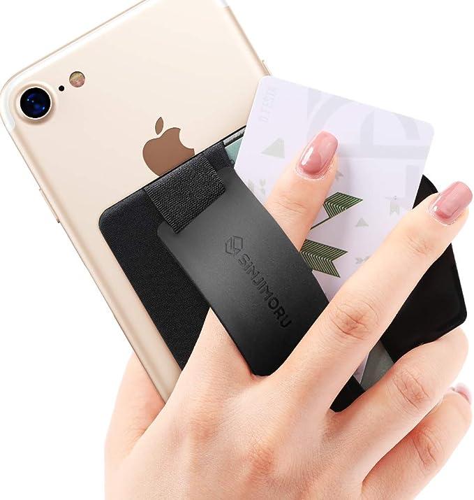 5701 opinioni per Sinjimoru- Supporto Presa del Telefono con Linguetta, Portafoglio Adesivo per
