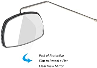 Attaches to Glasses Chic Bike Mirror Take a Look Cyclist Eyeglass Mirror