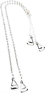 VORCOOL Bra Shoulder,1 Pair of Adjustable Metal Hook and Crystal Rhinstone Bra Shoulder Straps