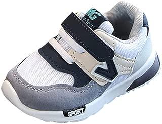 Allence Unisex Kinder Sneaker Turnschuhe Wander Outdoor Sportschuhe Kinder Jungen und Mädchen Hit Farbe Buchstaben Netto Tuch Schuhe Turnschuhe Freizeitschuhe