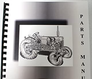 Massey Ferguson MF 124-126 Baler Parts Manual