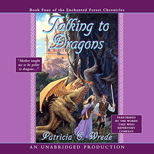 Talking to Dragons audiobook cover art