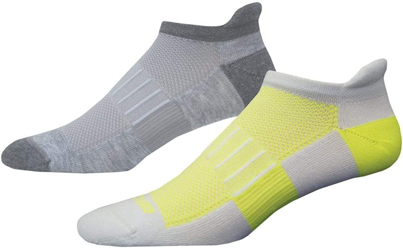 Brooks Ghost Mid Weight 2 Pack Lo Cut Socks ( 741543 )