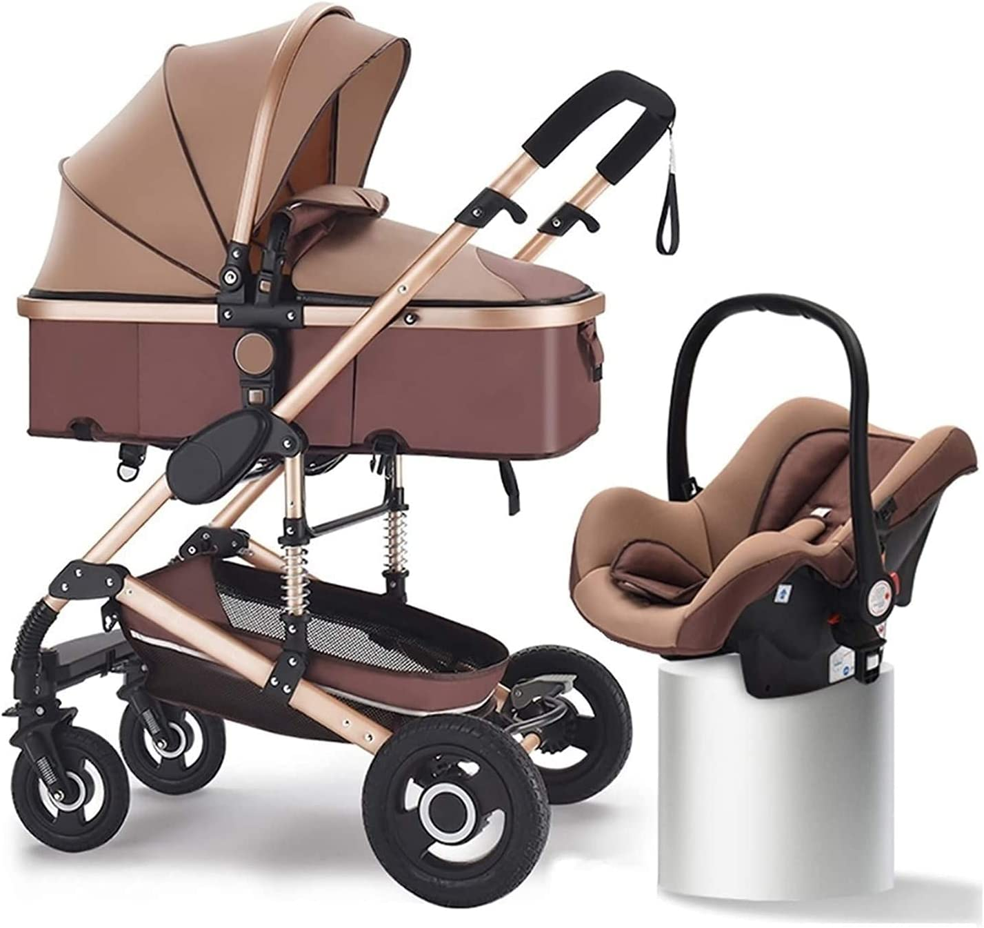 Yuansr 3 in 1 Baby Stroller Carriage Luxury Ba Sales of SALE items from new works half Foldable