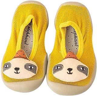 1 Pair Infant Socks Anti Slip Baby Girl Non-Slip Socks Cartoon Toddler Indoor Sock Shoes Floor Rubber Soles Slippers